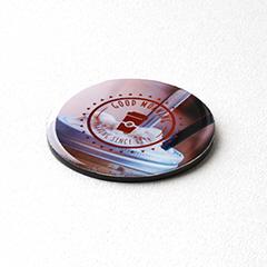 35×35サイズの円形のエポキシマグネット
