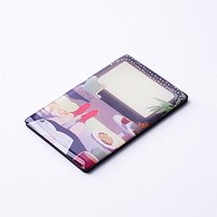 54×86サイズのクレジットカード型のエポキシマグネット