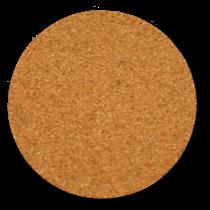 丸型のコルクコースターのサイズ詳細