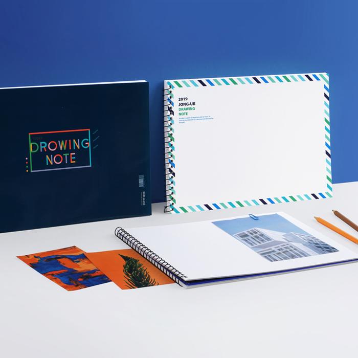 高級画用紙タイプのスケッチブック制作